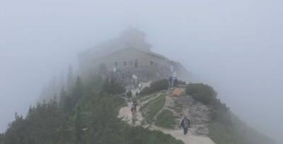 Foggy Eagle's Nest, Kehlsteinhaus, Berchtesgaden Visit
