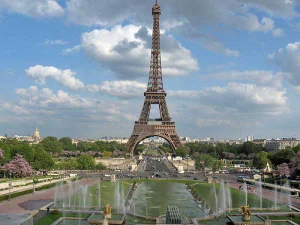 Eiffel Tower from Jardins du Trocadero, Paris Visit