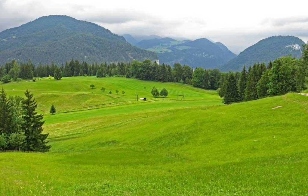 Fields, Hiking from Obersalzberg, Berchtesgaden Visit