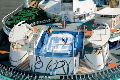 Freedom of the Seas, Flowrider, Royal Caribbean International
