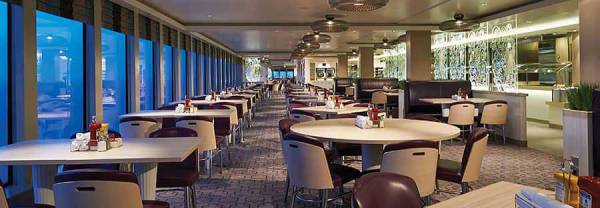 Garden Cafe, Norwegian Getaway, Norwegian Cruise Line