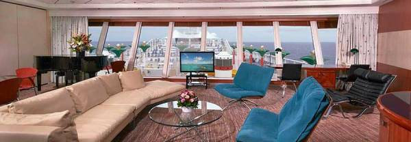 Garden Villa Suite, Norwegian Star, Norwegian Cruise Line