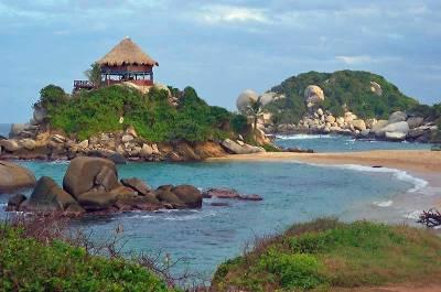 Gazebo, Cabo San Juan, Tayrona National Park, Visit Santa Marta