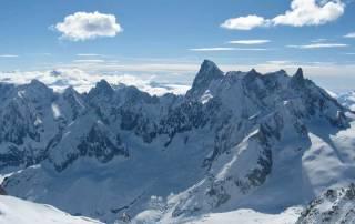 Grandes Jorasses, Chamonix Mont-Blanc Massif