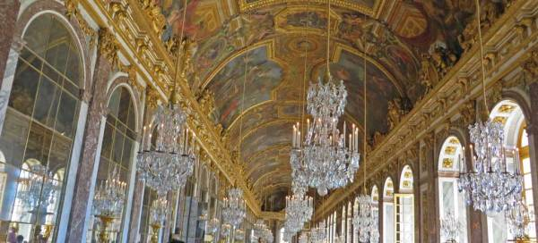 Hall of Mirrors, Palace of Versailles Tour
