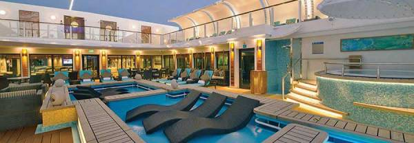 Haven Courtyard, Norwegian Getaway, Norwegian Cruise Line