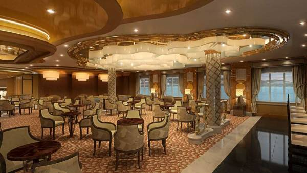 International Cafe, Princess Cruises