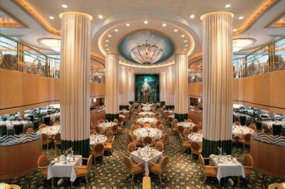 Jewel of the Seas, Tides Dining Room, Royal Caribbean International