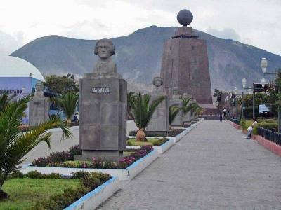 La Mitad del Mundo, Equator near Quito