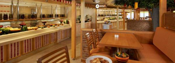 Lido Buffet Restaurant, Carnival Cruise Line