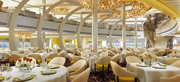 Main Dining Room, Holland America Line