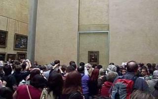 Mona Lisa, the Louvre, Paris Visit