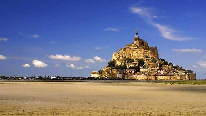 Visit Mont St-Michel, Low Tide