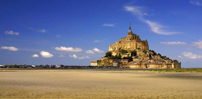 Visit Mont St-Michel, Low Tide