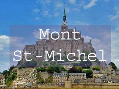 Visit Mont St-Michel