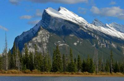 Mount Rundle, Vermillion Lake, Visit Banff National Park