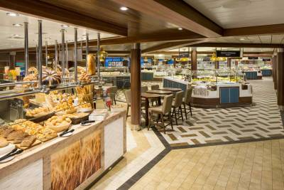 Ovation of the Seas, Windjammer Buffet, Royal Caribbean International