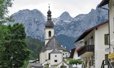 Pfarrkirche St Sebastian, Ramsau by Berchtesgaden