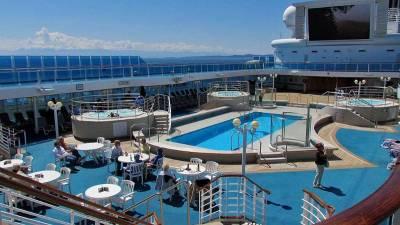 Pool Deck, Princess Cruises, Coral Princess Review