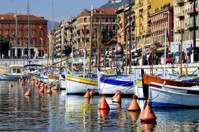 Boats, Port Lympia, Visit Nice, France