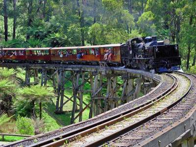 Puffing Billy, Dandenong Ranges, Visit Melbourne