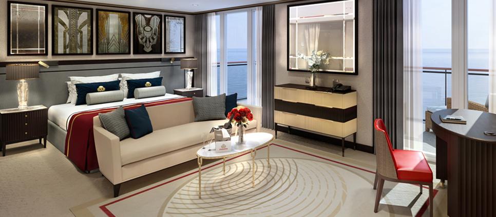 Luxury Cruise Line Room Service Menus