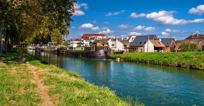 Rhône-Rhine Canal, Alsace, Canal Boating France