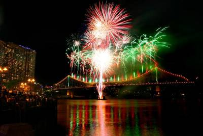 Riverfire, Brisbane Festival, Visit Brisbane, Australia