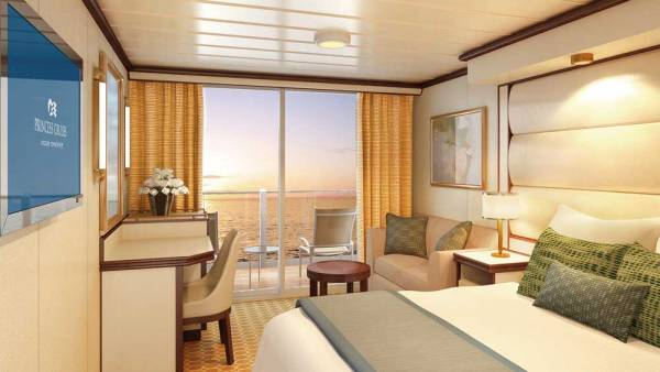 Royal Class Deluxe Balcony, Princess Cruises