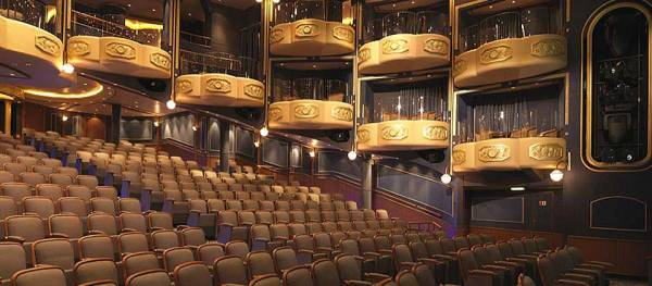 Royal Court Theatre, Queen Elizabeth, Cunard Line