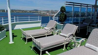 Sanctuary, Princess Cruises, Coral Princess Review