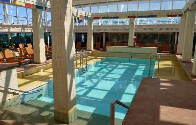 Solarium Pool, Retractable Roof, Rhapsody of the Seas Tour