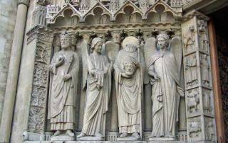 St Denis Decapitated, Notre Dame, Paris Visit