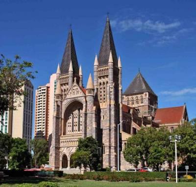 St John's Cathedral, Visit Brisbane, Australia