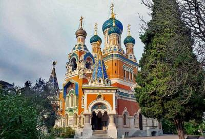 St Nicholas Russian Cathedral, Visit Nice, France