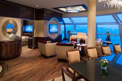 Suite Stateroom, Celebrity Reflection, Celebrity Cruises
