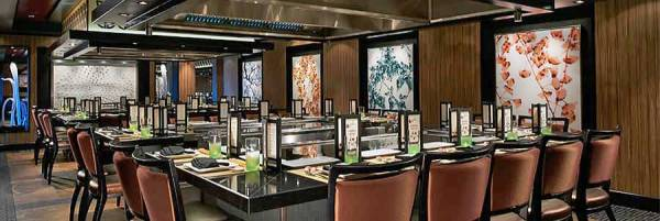 Teppanyaki, Norwegian Escape, Norwegian Cruise Line