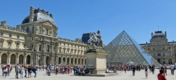 the Louvre, Paris Visit