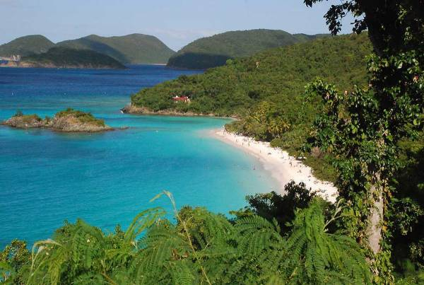 Trunk Bay, St John, Visit the U.S. Virgin Islands