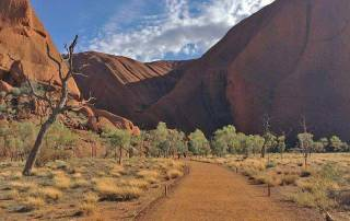 Uluru Trail at Base, Visit Red Centre