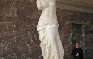 Venus de Milo, the Louvre, Paris Visit