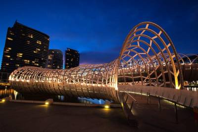 Webb Bridge, Docklands, Visit Melbourne