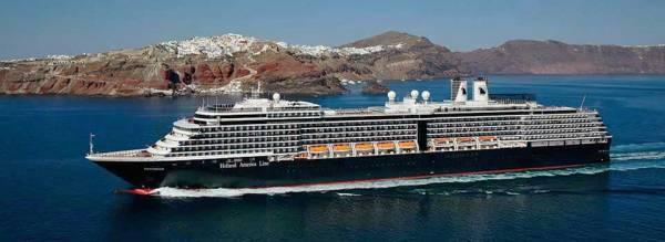 Westerdam, Santorini, Holland America Line