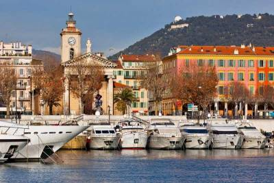 Yachts, Port Lympia, Visit Nice, France