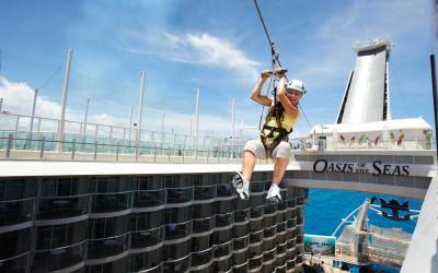 Zip Line, Oasis of the Seas, Royal Caribbean International