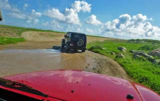 Puddles, Aruba 4x4 Adventure
