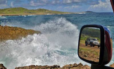 Sea Spray, Aruba 4x4 Adventure