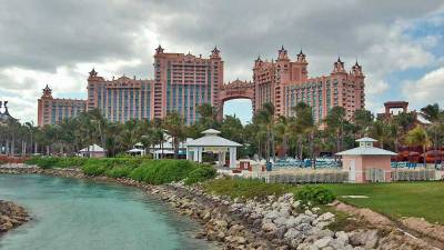 Atlantis Bridge Suite, View from Ocean Side, Nassau, Visit the Bahamas
