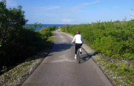 Bonaire Biking Excursion Path