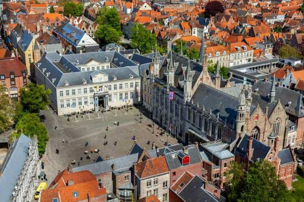 Burg Square, City Hall, Visit Bruges